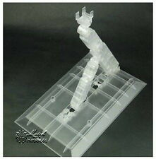 UNIVERSIAL Clear Color Stand Base For 60 PG MG W 00 SEED Z X AGE V GUNDAM Model