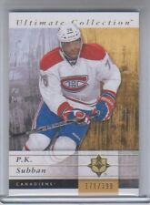 2011-12 Ultimate Collection P.K. Subban #32 171/399 NM Condition