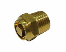 1/4 Inch BSP Manual Air Vent | Brass Bleed Valve For Radiators + Heating Systems