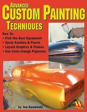 Advanced Custom Painting Techniques Book by Jon Kosmoski Auto Motorcycle Restore