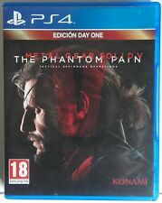 Metal Gear Solid V. The Phantom Pain. Edicion Day One. Ps4. Fisico. Pal España