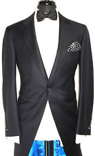 NEW MENS BESPOKE PIN & STRIPES FORMAL WEDDING MORNING 3 PIECE SUIT 40R W34 X L32