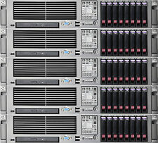 HP Proliant DL380 G5 2U Xeon Rack Servers Two E5410 Quadcore 12MB Cache Hyper-V