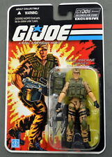 GI Joe Collectors Club FSS Exclusive S.A.W. MACHINE GUNNER REPEATER Figure MOSC