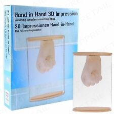 3D Fun Hand & Foot Moulding Kit CREATE YOUR OWN Casting Child Statue Mold Mould
