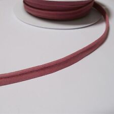 flanged 2mm insert piping cord poly cotton bias cut - by the M - Many Colours