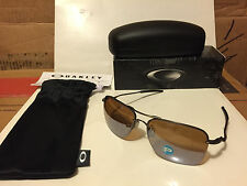 NEW Oakley Tailhook - Sunglasses Titanium / Titanium Iridium Polarized OO4087-07
