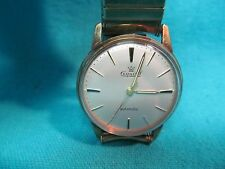 RARE GOLD PLATE EXQUISIT 25 JEWEL AUTOROTOR AUTOMATIC MEN'S WATCH CAL PUW1260