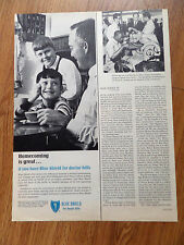 1967 Blue Shield Insurance Ad Homecoming is Great