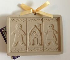 Brown Bag Designs 2001 Gingerbread Family Cut-Apart Boy/Girl Cookie, Art Mold