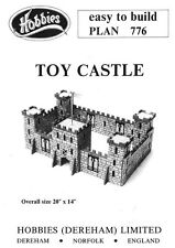 Hobbies Easy to Build Plan of Model Toy Castle P776
