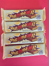 Whatchamacallit 4ct Candy Bar - Peanut Flavored Crisp - FREE THERMAL SHIPPING
