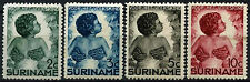 Surinam 1936 SG#258-261 Child Welfare MH Set #D44001