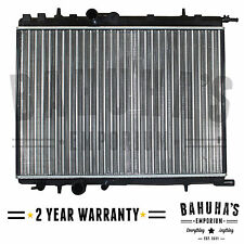 PEUGEOT 206/307/PARTNER MANUAL/AUTOMATIC RADIATOR 2 YEAR WARRANTY *BRAND NEW*