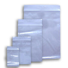 "ZIPLOCK BAGGIES CLEAR 4"" X 6""  - 2 MIL CLEAR ZIP LOCK TIGHT BAGS 10000 OF THEM!"