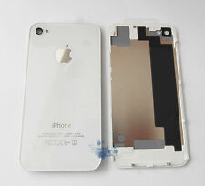 White Quality Glass Replacement Back For Apple iPhone 4S Rear Battery Cover UK