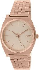 Nixon Men's Time Teller A045897 Rose Gold Stainless-Steel Quartz Watch