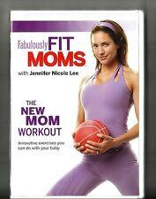 JENNIFER NICOLE LEE: Fabulously Fit Moms (2007, DVD) BRAND NEW: New Mom Workout