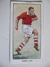 Robert Ayre- Charlton Athletic (Famous Footballers - D C Thompson & Co. 1955)