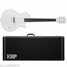 ESP Ted Aguilar TED-600 Snow White SW Electric Guitar NEW w/ Hardshell Case!