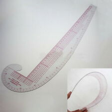 3 In 1 Styling Design Soft Plastic Ruler French Curve Hip Straight Ruler Comma