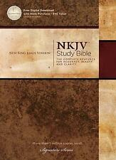 The NKJV Study Bible by Thomas Nelson Publishing Staff (2012, Hardcover)