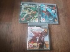 UNCHARTED TRILOGY FOR SONY PS3