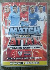 Match Attax 2012/2013 Season Album in perfect condition over 430 different cards