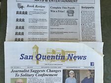 RARE Actual San Quentin Newspaper With Scott Peterson Winning A Contest!!