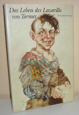 DAS LEBEN DES LAZARILLO VON TORMES Illustratinen von M. M. Prechtl Büchergilde