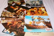 L' ILE AUX PIRATES ! geena davis  jeu 12 photos cinema lobby cards fantastique