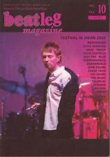 Beatleg Oct/2003 Mag Japan Radiohead on Cover Steve Winwood Devo Coldplay Travis