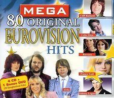 80 Original Eurovision Hits by Various Artists (CD, May-2006, MSI Music...