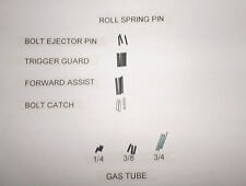 Roll Spring Pin Combo Set Gas Tube Bolt Catch Trigger Guard F/A 3 OF EA 556