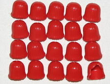 LEGO LOT OF 20 NEW RED MID LENGTH FEMALE HAIR GIRLS WIG PIECES