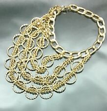 Gold Circle Shoe Chain / Anklet
