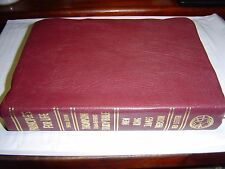 THOMPSON CHAIN REFERENCE STUDY BIBLE PRINCIPLES FOR LIFE NKJV BURGUNDY LEATHER