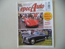 EPOCAUTO 10/2008 SERVIZI 81° MILLE MIGLIA/CONCORSO VILLA D'ESTE/GP MONACO 1968