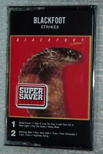 BLACKFOOT Strikes Cassette tape Nov 1988 Atco USA NEW and SEALED collectible WEA