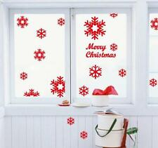 Wall Window Stickers Angel Snowflake Christmas Xmas Vinyl Art Decoration Decal