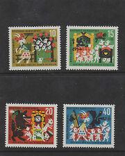 WEST GERMANY MNH STAMP DEUTSCHE BUNDESPOST 1963 HUMANITARIAN RELIEF SG 1322-1325