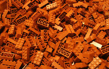 200 Generic Brown 2x4 brick building blocks, Compatible to Lego 2x4 Bricks 3001