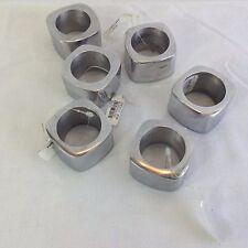 Aluminum Napkin Ring Holder Set of 6 Made in India