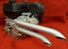 Mini Bike Custom Dual sideways exhaust Header Pipe for Predator 212cc  & 79cc
