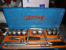 """GEDORE 1/2"""" DRIVE METRIC SOCKET SET MADE IN GERMANY"""