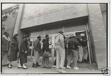DONNA DECESARE Orig. PHOTOGRAPH Brooklyn NY UNEMPLOYMENT OFFICE Photojournalism