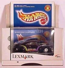 1999 Hot Wheels Limited Edition Lexmark Black '50's TAIL DRAGGER
