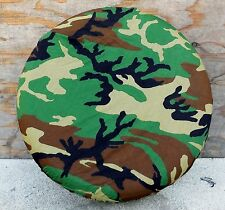 UNISSUED WOODLAND CAMO ALICE PACK AND JEEP SPARE TIRE COVER