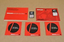 2004 Ducati Desmo Owners Club Patch Dealer Guide Service Manual Booklet Lot