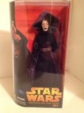 """NEW STAR WARS BARRISS OFFEE 12"""" ACTION FIGURE DOLL REVENGE OF SITH DISNEY LUCAS"""